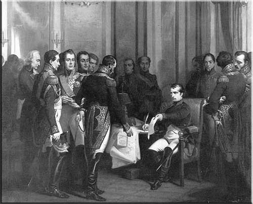 4 avril 1814, Napoléon Ier a abdiqué