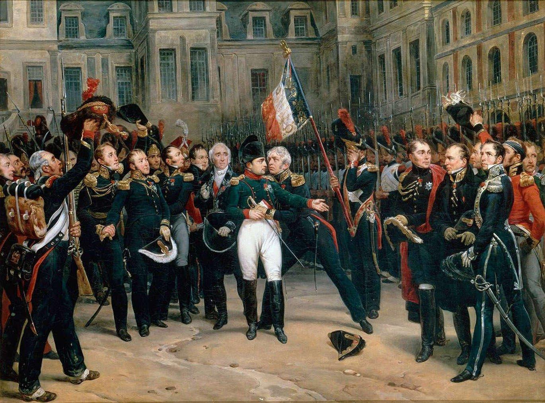 napoleon fontainebleau adieux à la garde impériale