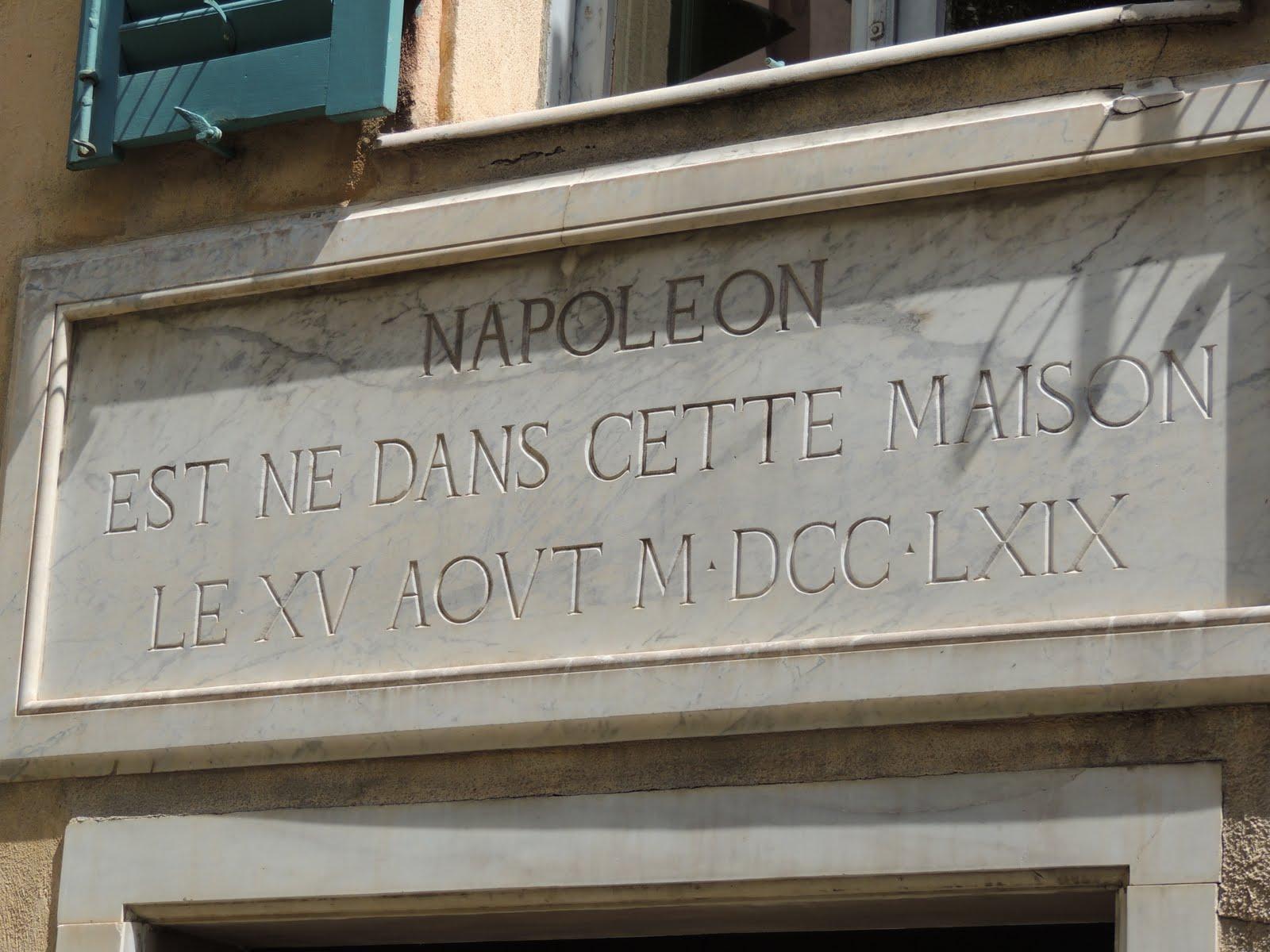 Corse ajaccio maison natale de napol on for Ashoka ala maison